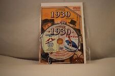 Flickback Greeting or Birthday Card With DVD  For Those Born in 1930    (v417)