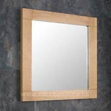 Oak Contemporary Decorative Mirrors