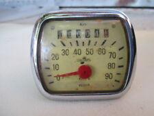 Accessorio lambretta c lc e f d ld 125 150 contachilometri veglia speedometer