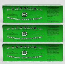 3 Bath Body Works CO Bigelow by Proraso PREMIUM SHAVE CREAM Eucalyptus Oil 5.2oz