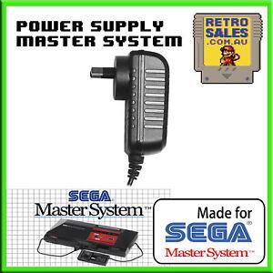 Sega Master System 1 Power Supply Adapter Pack New Aftermarket AUS Plug 3025 PSU