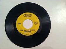 CLASSIC - HOLLIES - HE AIN'T HEAVY HE'S MY BROTHER - 45 RPM -(ORIGINAL)  VG+++