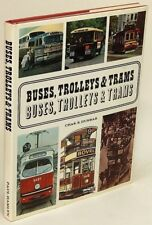 Buses, Trolleys & Trams by Chas. S. DUNBAR: Near Fine Hardcover in VG+ DJ 78158