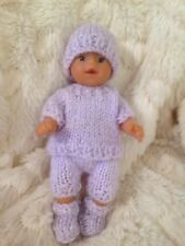 Baby Doll Outfit To Fit 5 Inch Doll Reborn Oakley (no Doll LilacMini Baby Born