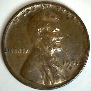 1931 S Lincoln Wheat Cent Coin 1c US Penny You Grade Circulated Rainbow Toning