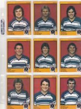 Queensland 1982 Season NRL & Rugby League Trading Cards