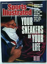 Sports Illustrated 1990 YOUR SNEAKERS YOUR LIFE Nike Air Jordan V5 RARE NO LABEL