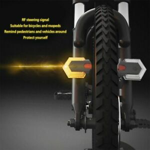Bike Turn Signals Front and Rear Light with Smart Wireless Remote Control  1set