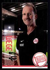 Eric Wege Kickers Offenbach 2013-14 Autogrammkarte Original Signiert +A 75070