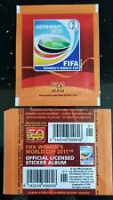Panini FIFA Women's World Cup 2011 Germany Sealed Sticker Packet - VERY RARE