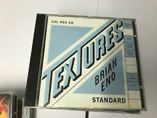 Brian Eno – Textures Standard Music Library – ESL 003 CD V NR MINT ALL ROUND