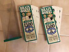 BRAIN QUEST1500 Questions Flash Cards Game 4TH GRADE Homeschool VTGl