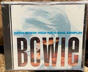 David Bowie: High Tech Soul Sampler (1990) PROMO CD, SEALED - RCD PRO 9016