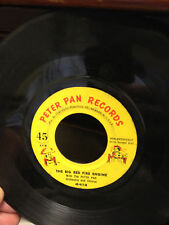 "The Big Red Fire Engine - Peter Pan Records 45-617 7"" 45RPM"