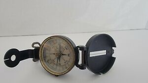 Vintage WWII US Army Corps of Engineers Superior Magneto Compass Made in USA