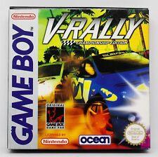 V-RALLY CHAMPIONSHIP EDITION - GAMEBOY GB GAME BOY - PAL ESPAÑA - VRALLY V RALLY
