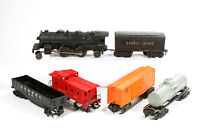 Lionel Train Set  Steam Engine 6110 with Scout and Sunoco Tanker Car 6 Peices