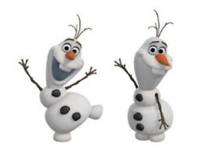DISNEY FROZEN OLAF WALL DECAL APPLIQUES - DECALS, SNOWMAN