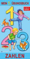Mein 1. Übungsbuch Klasse 1-2 Zahlen Lernspiel Mathematik Lernheft Schulanfang
