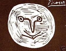 PICASSO SIGNED 1964 LITHOGRAPH w/COA. $ INCREDIBLE Unique Pablo Picasso RARE ART