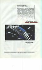 PUBLICITE ADVERTISING  1995   RADO  montre  SINTRA