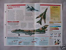 Aircraft of the World Card 52 , Group 4 - Sukhoi Su-7 'Fitter'