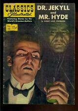 Classics Illustrated #13, Jekyll and Hyde, Hrn 112!