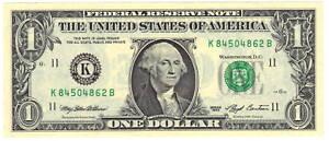 $1 1993 (FW)  Non-Mule Type Non-Star, CHCU