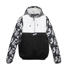 Women's Water-Resistant Sports Pullover Windbreaker Hoodie Jacket Coat Outwear
