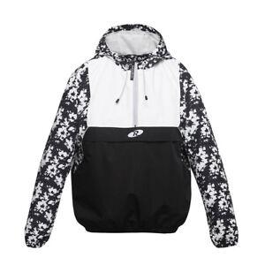 Rokka&Rolla Women's Pullover Anorak Windbreaker Casual Outdoor Rain Jacket