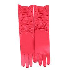 Ladies Long Finger Gloves Elegant Fancy Party Dress Evening Wedding Glove TO