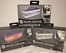 NFL IHip Portable Wireless Bluetooth Speaker Sound Machine NY Jets, BEARS, COLTS