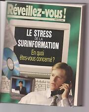 volume relié Réveillez-vous 1998; watchtower