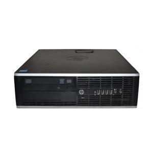 HP Compaq 6200 Pro SFF PC i7-2600@3.40Ghz CPU 4Gb Ram 500GB HDD Win 7 Pro