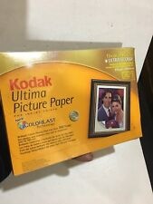 KODAK ULTiMA ULTRA Glossy Photo Paper -13x18cm 230g/m2.  20 Sheets 250 Microns