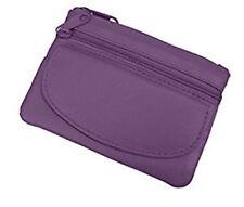 Purple Ladies Small Coin Key and Credit Card Purse Golunski - 891