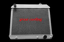 3 ROWS/CORES 1963 1964 1965 1966 Chevy C10 C20 C30 K10 truck ALUMINUM RADIATOR