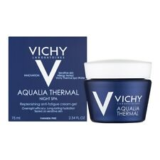 Vichy Aqualia Thermal Night Spa Replenishing Anti-Fatigue Cream-Gel 75ml