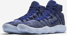 NIB MENS 12 HYPERDUNK 2017 FLYKNIT 917726 400 COLLEGE NAVY LIFESTYLE SHOES $160