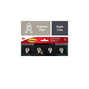 Command Slate Key Rail, HOM-18S-ES, 1 Rail, 6 Strips