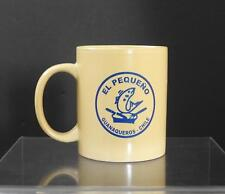 "Vintage Onetto Marketing El Pequeno Guanaqueros Chile Ceramic Mug Tea 3 7/8"" Y46"