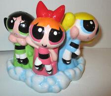 Cartoon Network PowerPuff Girls Salt & Pepper Shakers RARE