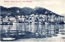 Salerno cartolina anni 20 viaggiata perfetta