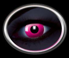 ZOE UV ROSE lentille de couleur lens pink contact halloween glow vampire linsen