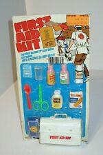 1976 Kids Baby Doll First Aid Kit Doctor Nurse Play Set New Sealed MOC Gordy Toy