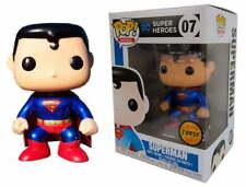 RARE FUNKO POP DC SUPER HEROES N°07 SUPERMAN EDITION LIMITEE METALLIC CHASE