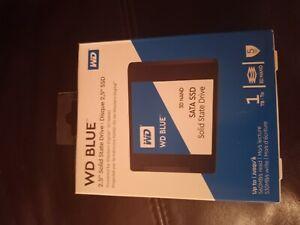 """WD Blue 3D NAND 1TB Internal SSD  SATA III 6Gb/s 2.5""""/7mm Solid State Drive"""