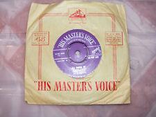 Elvis Presley ALL SHOOK UP/qu' est quand Original Violet HMV label Silver Print