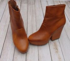 MAISON MARTIN MARGIELA HIGH HEEL ANKLE BOOTS>BN>GENUINE>£595+>6uk>39>RARE>BROWN