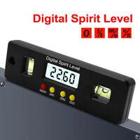 150mm 4*90° Mini Digitale Inclinometro Livello Magnetico Pinza Angle Level